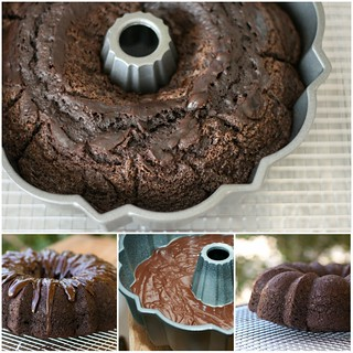 Double-Chocolate Bundt Cake with Ganache Glaze - I Like Big Bundts 2011 | by Food Librarian