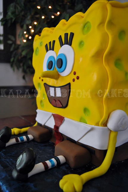 Spongebob Squarepants Birthday Cake | Spongebob ...