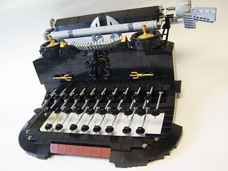 Click click Lego Typewriter | by monsterbrick
