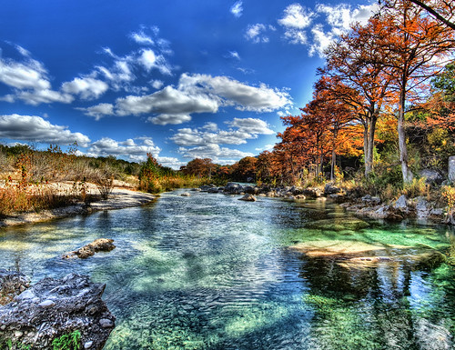 Green Frio River Fall (HDR) | by Knowsphotos