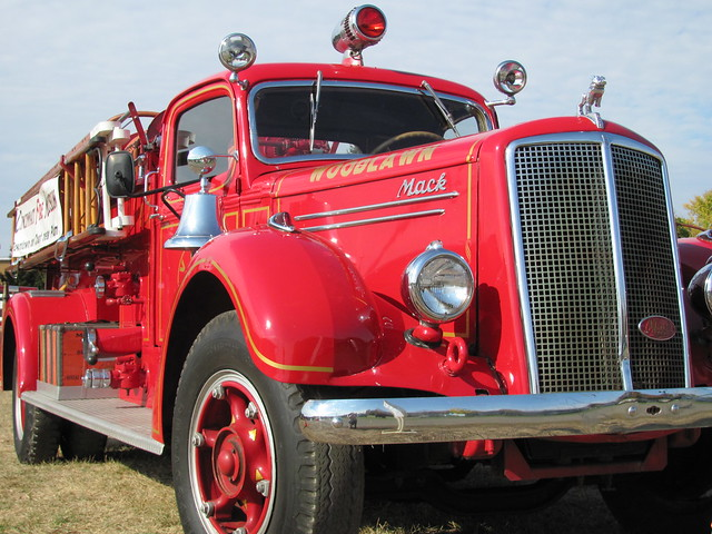 Ljt Mack Truck 1948 : Mack fire engine national heritage muster