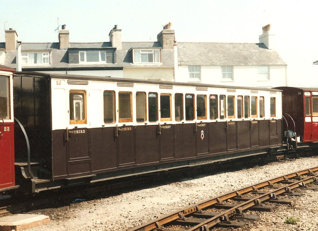 Carr 16 Ffestiniog Railway Coach 16 At Porthmadog