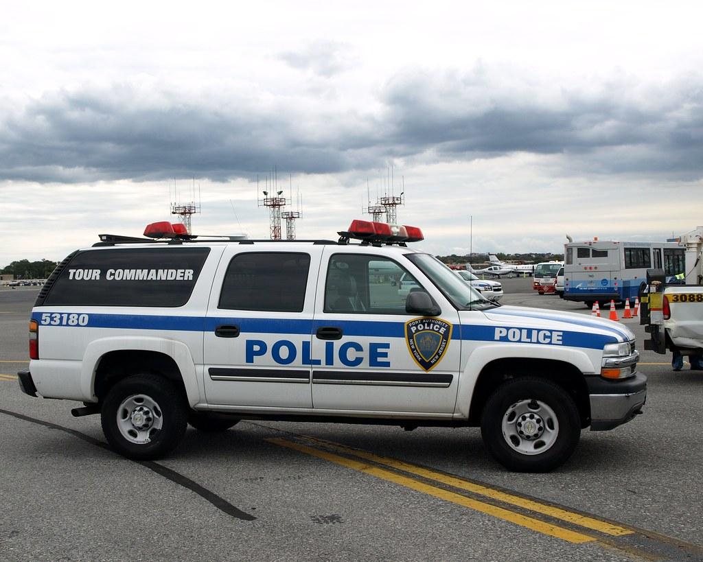 Papd port authority tour commander police car la guardia for La port police