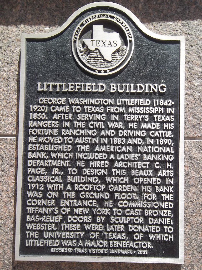 Littlefield Building Austin Texas Historical Marker Flickr