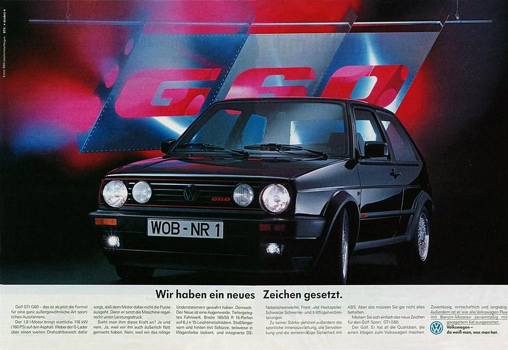 Vw Golf Ii 1990 Gti G60 Zeichen Wir Haben Ein Neues