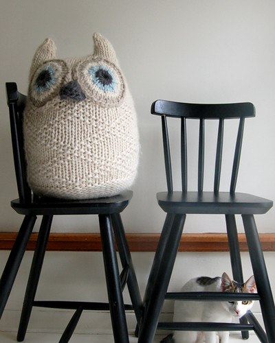 Whit's Knits: Big Snowy Owl! | by the purl bee