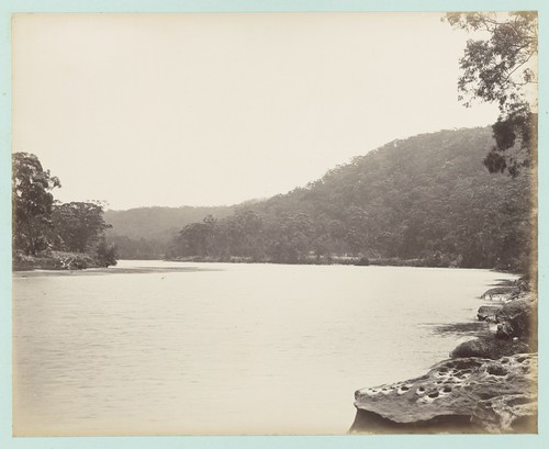Port Hacking River near Loftus (below the dam), [New South Wales]. | by National Library of Australia Commons