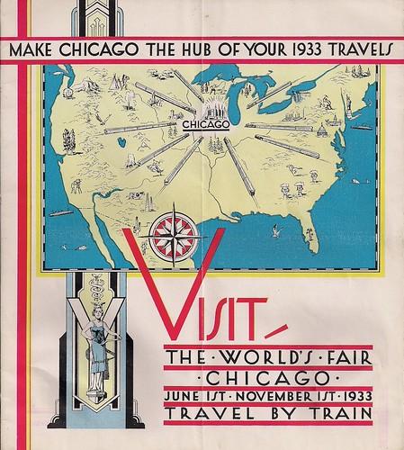 Lloyd Jones Illustration June 2011: Travel By Train, Eighty Years Ago