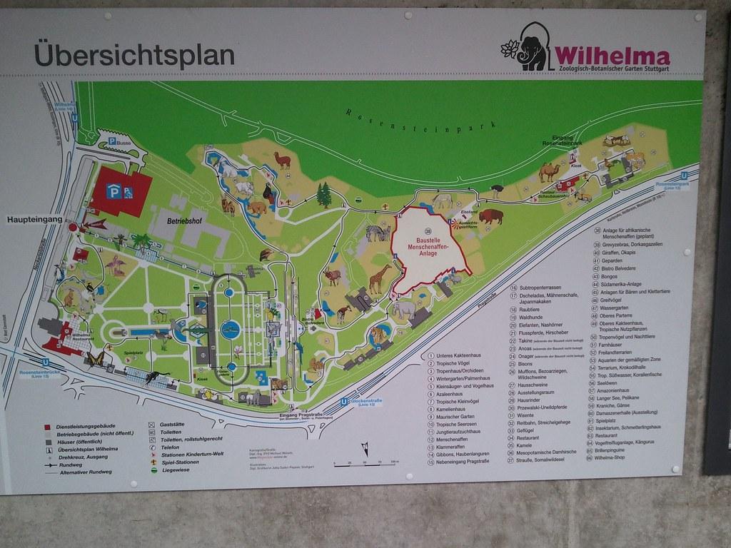 map of the wilhelma zoo in stuttgart dennis knothe flickr. Black Bedroom Furniture Sets. Home Design Ideas