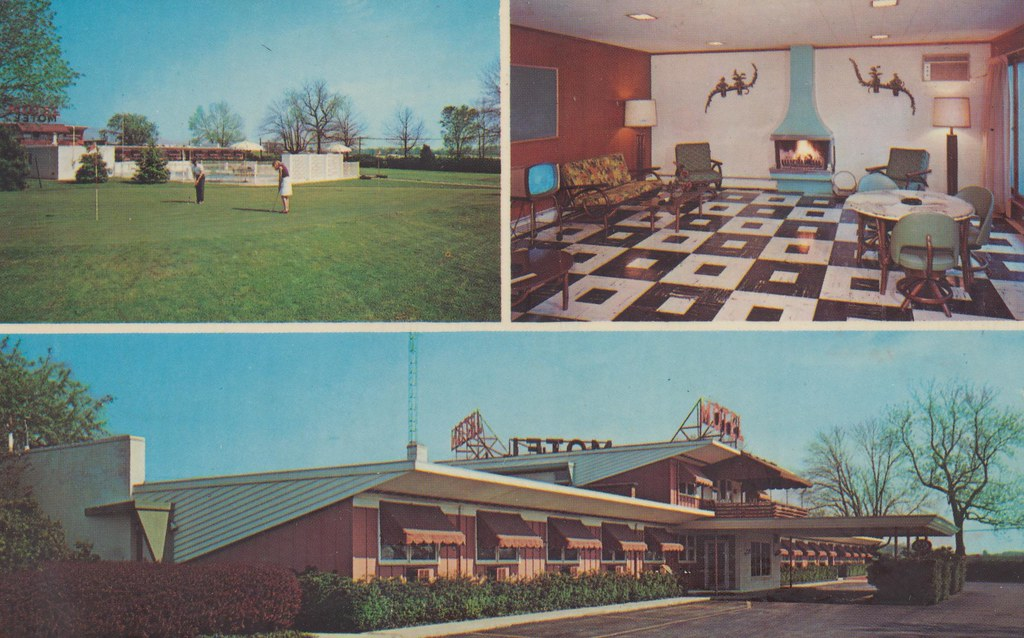 Davis Plaza Motel - Lima, Ohio