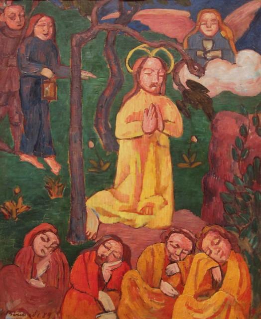 Yellow Christ (1889) - Emile Bernard | Flickr - Photo Sharing!