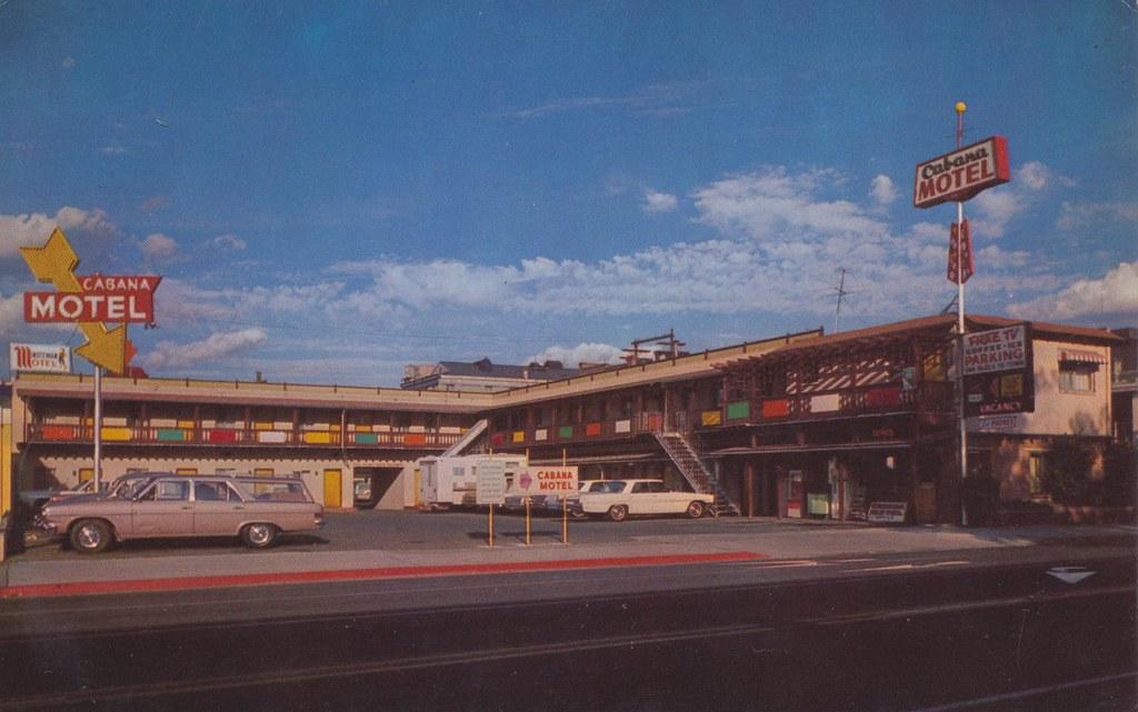 Cabana Motel - Reno, Nevada