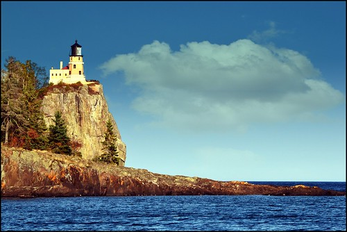 Split Rock Lighthouse Coloring Page