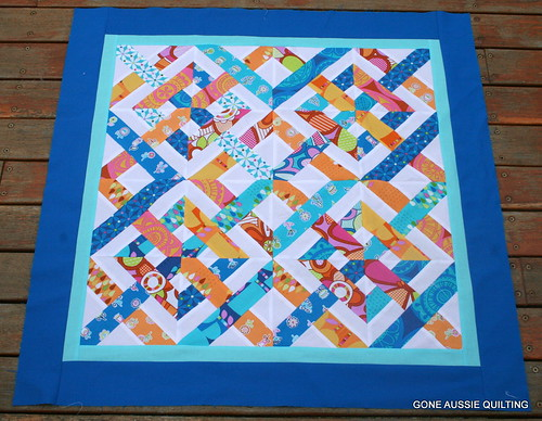Caned Seat Mini Quilt Top | by goneaussiequilting