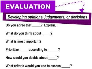 Evaluation [critical thinking skills] | by Enokson