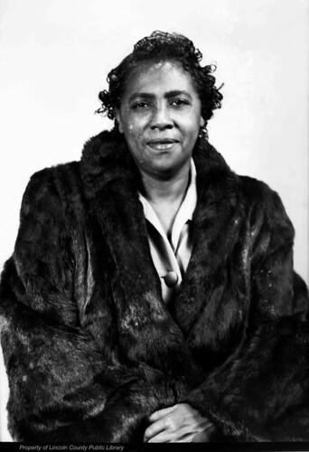 Elsie Brown 1 Woman In A Fur Coat Name Is Elsie Brown