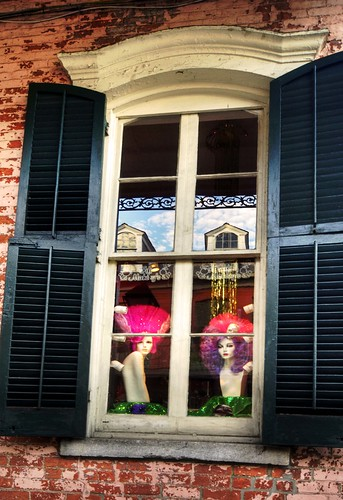 two girls in the French Quarter | by Lorraine Herson-Jones