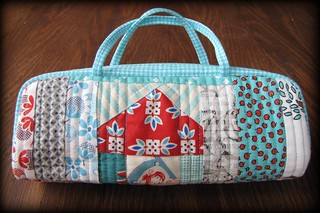 Mini Log Cabin Bag from Suzuko Koseki Patchwork Style | by Charise *