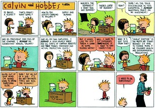 Calvin and Hobbes Explain Capitalism, Market Economics | by JoeInSouthernCA
