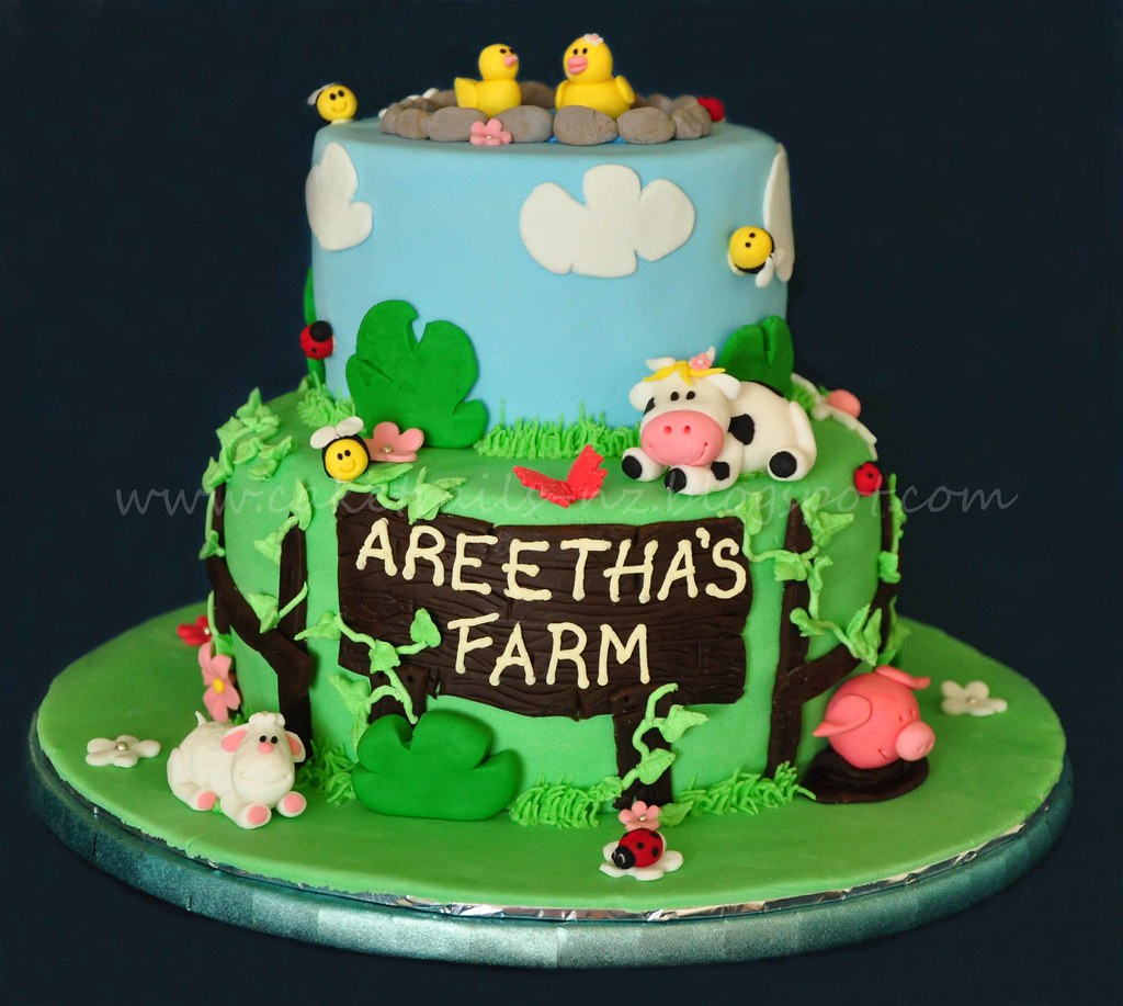 Farm Animals Birthday Cake Pictures