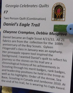 """Daniel's Eagle Trail"" by Olwynne Crampton and Debbie Musgrove - Info 