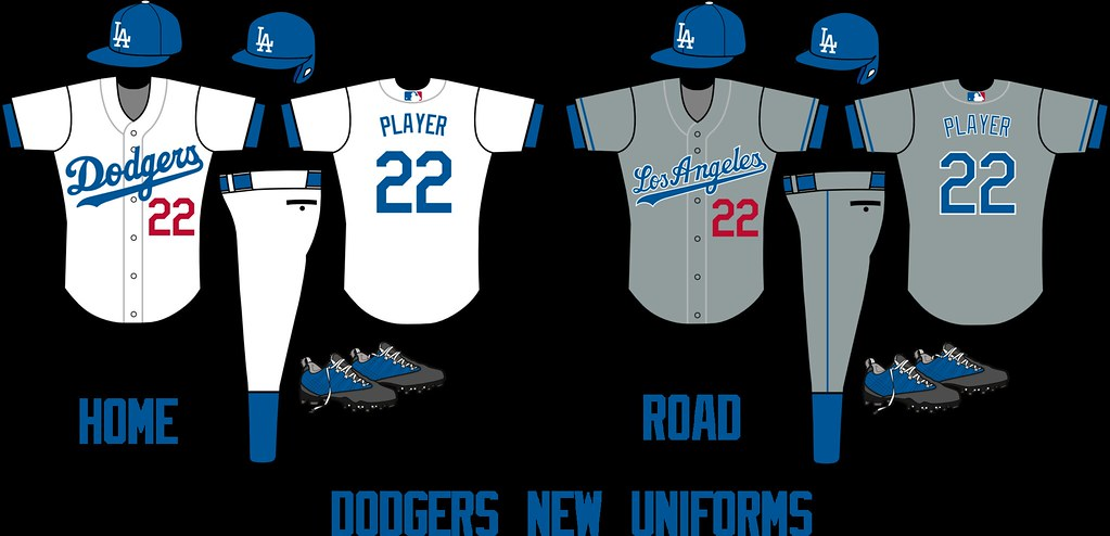 Los Angeles Dodgers: New Uniforms | PMell2293 | Flickr