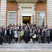 7 September 2011: Delegates photographed outside Marlborough House