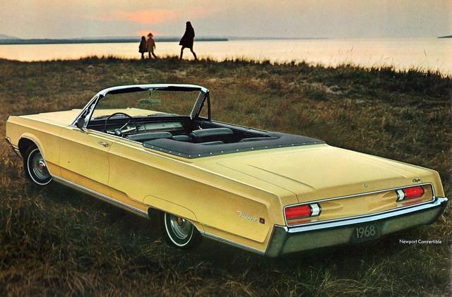 1968 chrysler newport convertible flickr photo sharing. Black Bedroom Furniture Sets. Home Design Ideas