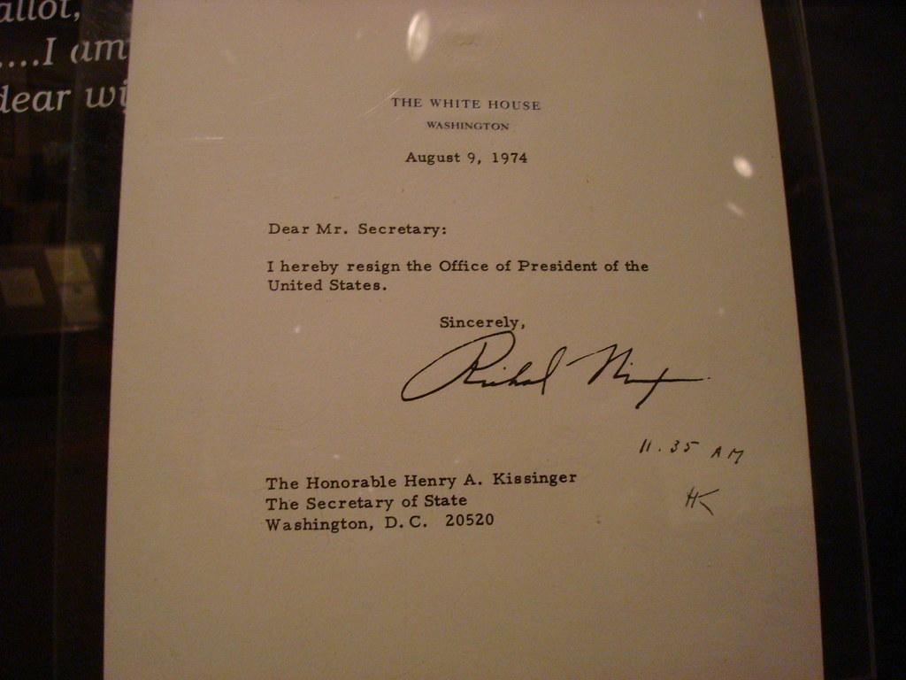 Nixon resignation letter MittenStatePhototog Flickrdivdiv