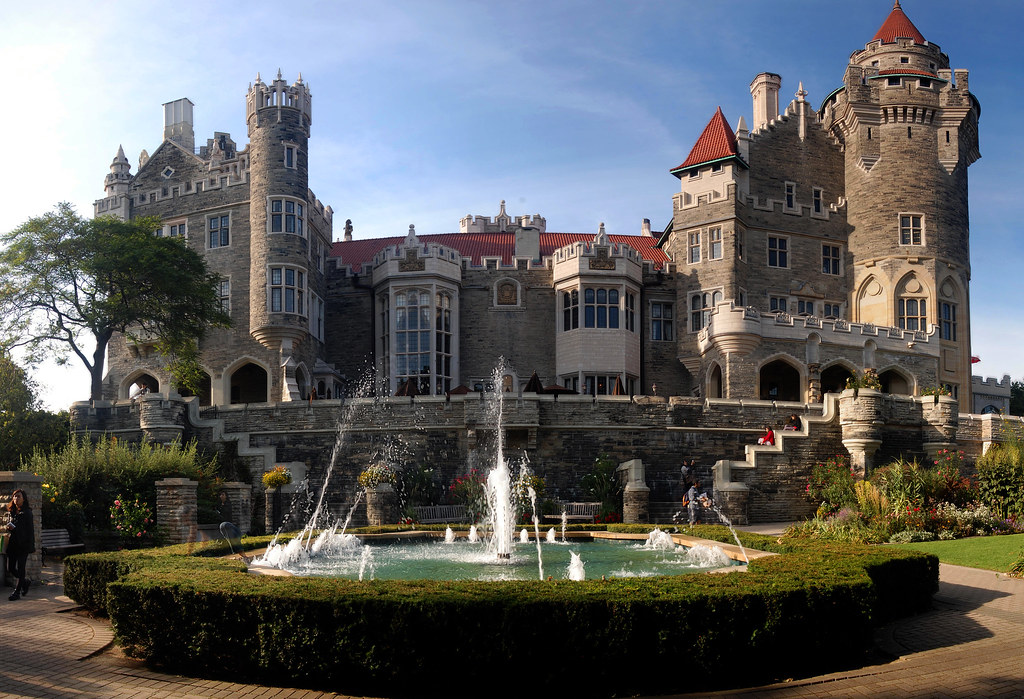 Toronto Casa Loma Autostitched Casa Loma Is A Gothic Re Flickr