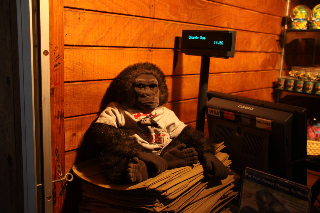 Gorilla Stuffed Animal For Sale At The Bronx Zoo Store Ny Flickr