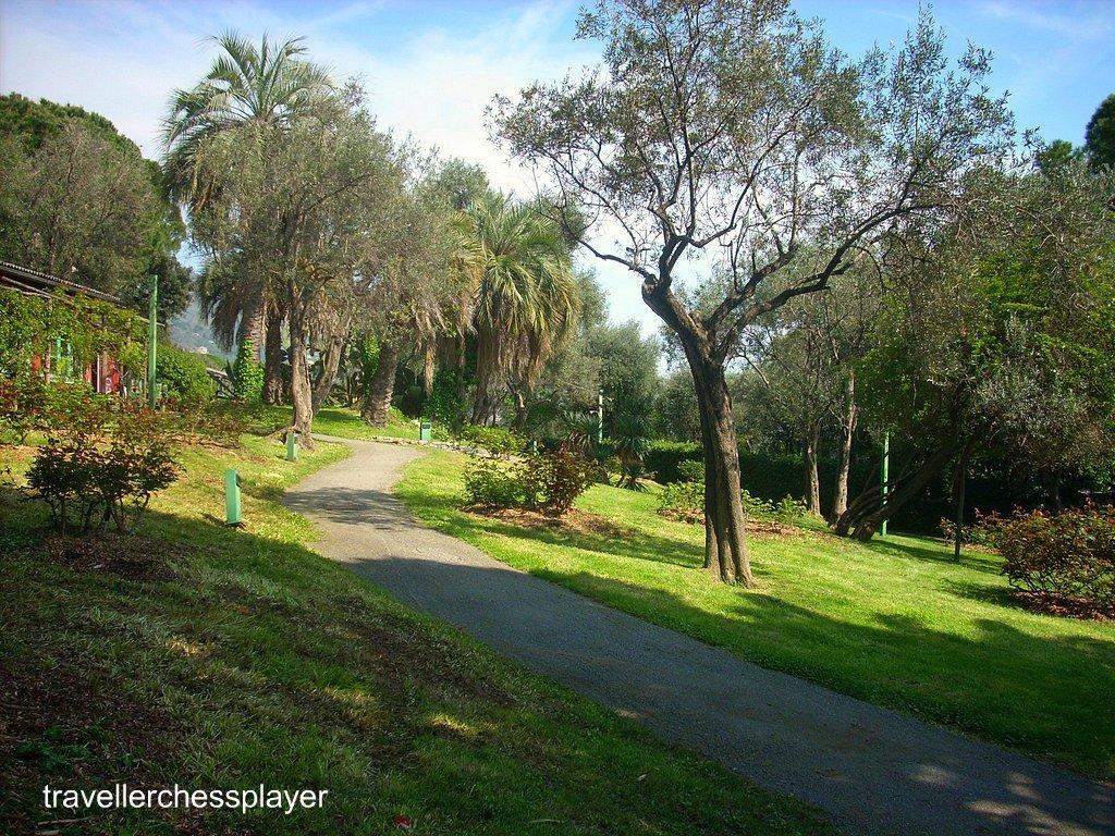 Parco di nervi genova italia il parco si trova in uno for Parchi di nervi
