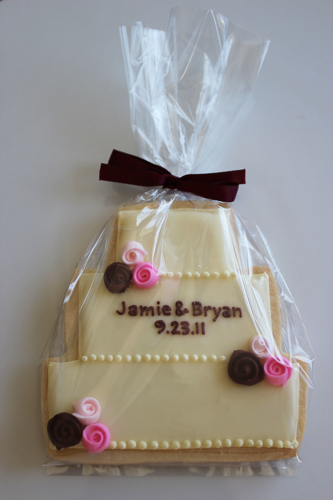 sugar cookie wedding cakes wedding cake cookies yellow wedding cake with pink and 20566