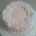White Rose 2 Layer Vanilla Cake