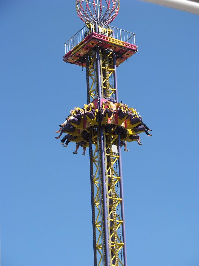 the mega drop ride the canadian national exhibition