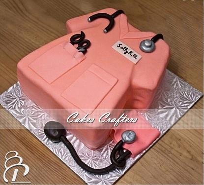 Scrubs Birthday Cake