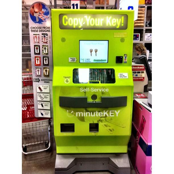 lowes key machine