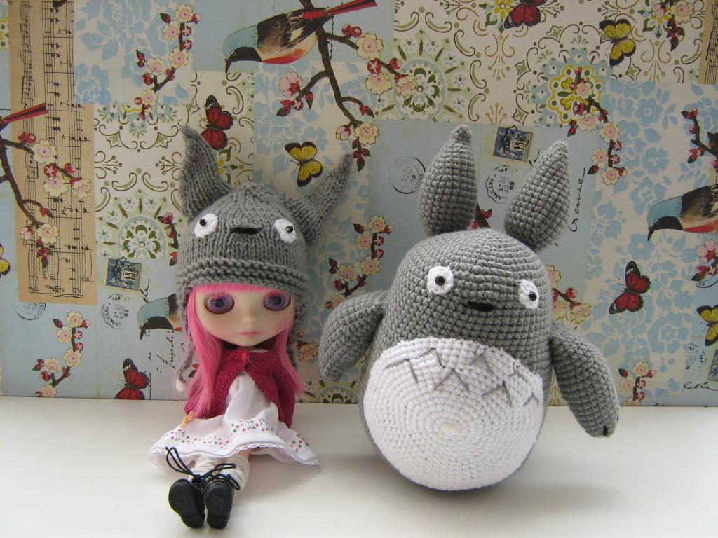 Amigurumi Totoro : Gorro y amigurumi totoro daiverdei flickr