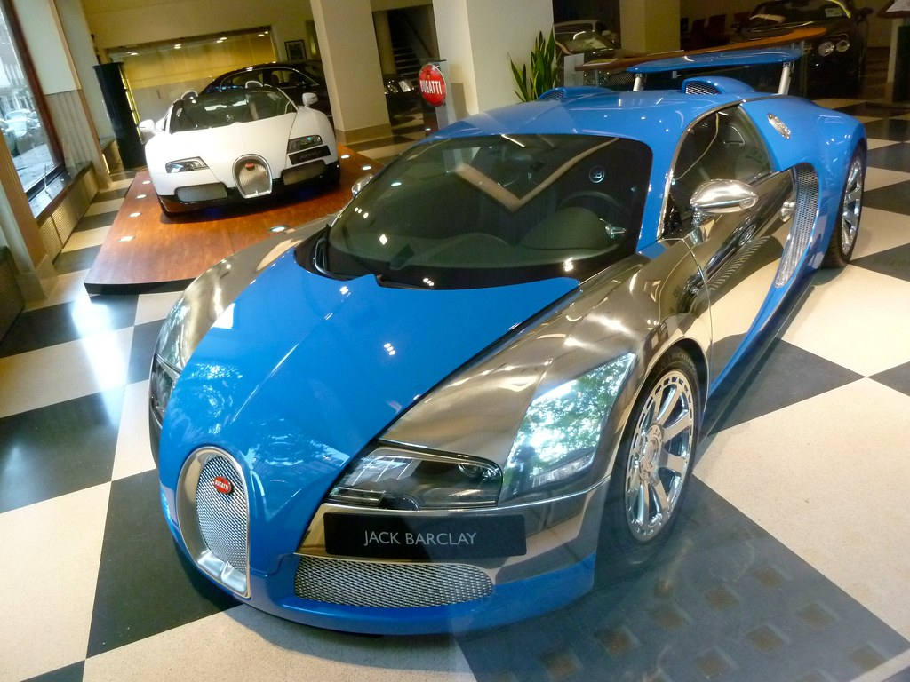 Bugatti Veyron 164 Chrome Blue Ben Flickr