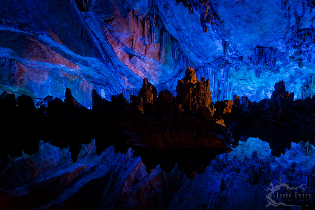 Reed Flute Cave Guilin China More Here On My Blog If