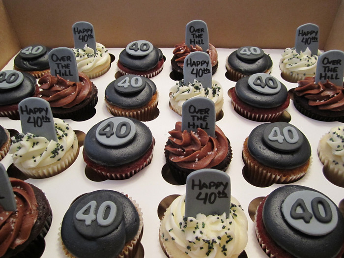Over The Hill Cupcakes Mindy Bortz Flickr