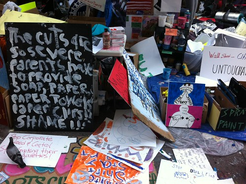 Occupy Wall Street Protest Signs | by Adam bd