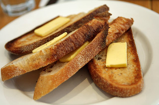 buttered toast at Bills | by David Lebovitz