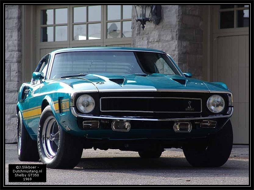 1969 Ford Mustang Shelby Gt350 001 Shelby Gt 350 1969 Flickr