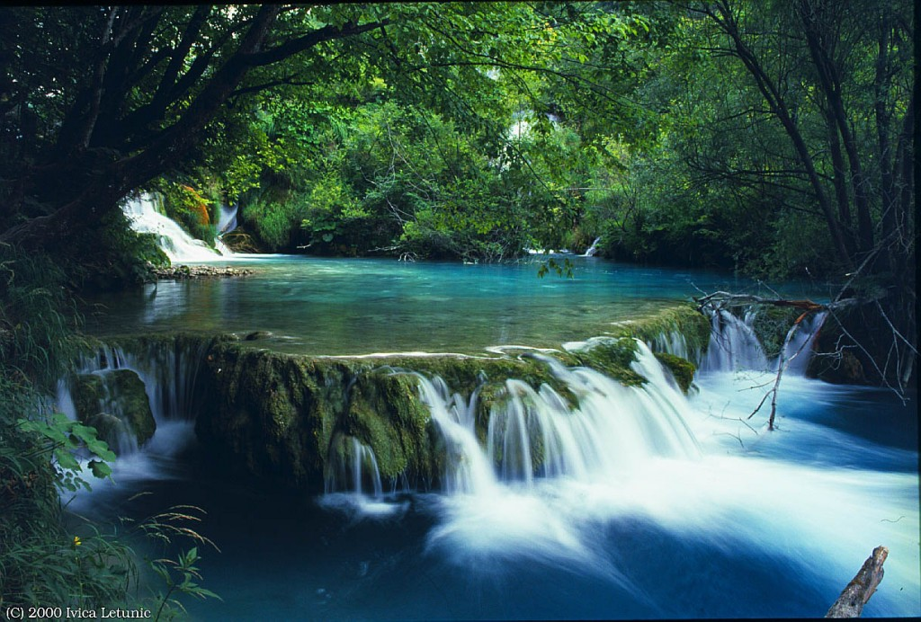 Most Beautiful Sceneries The Plitvice Park And Its