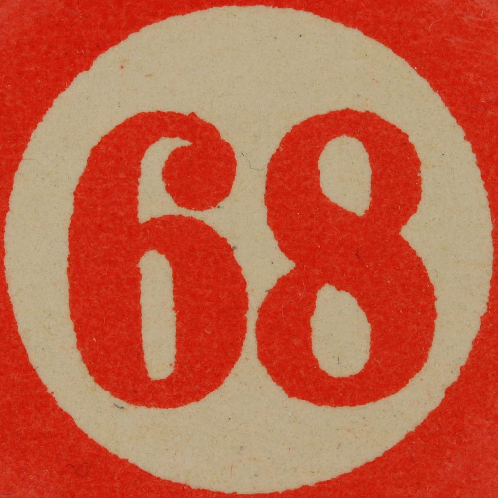 Cardboard Bingo Number 68 Leo Reynolds Flickr