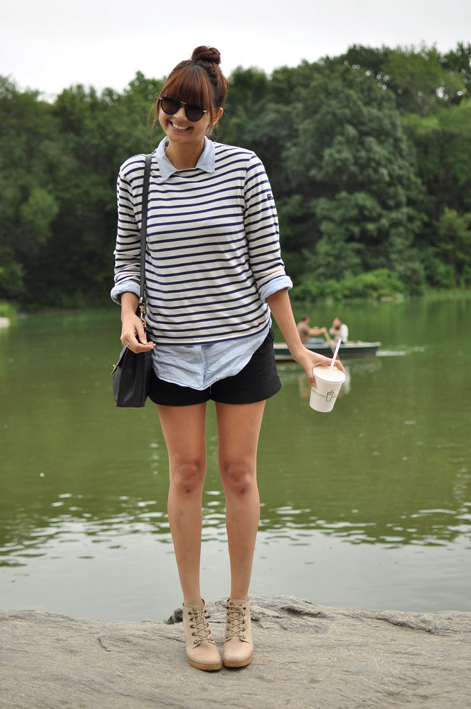 09 11 2011 vintage linen shirt saint james striped shirt for St james striped shirt