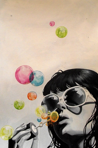 bubble girl | by derbyblue
