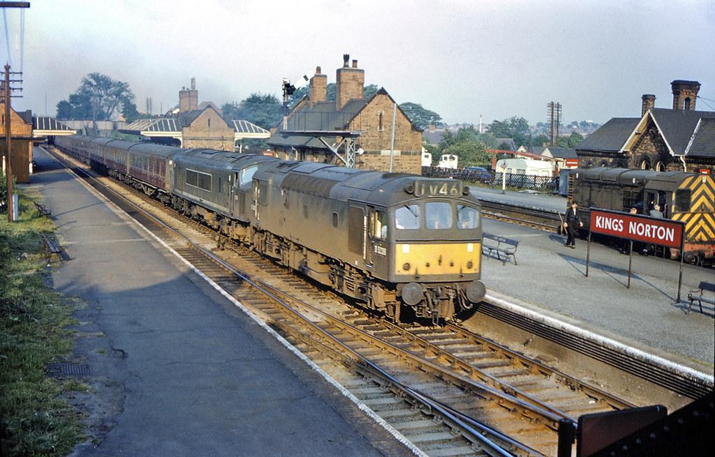 D5236 Amp D34 At Kings Norton D5236 Amp D34 Speed Through
