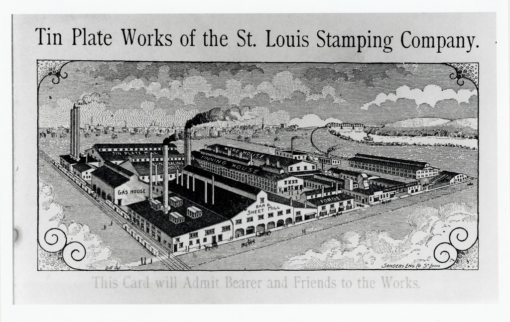 Tin Plate Works Of The St Louis Stamping Company Six